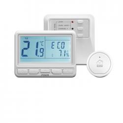 Kit termostat de ambient Poer Smart WI-FI, programabil de pe smartphone