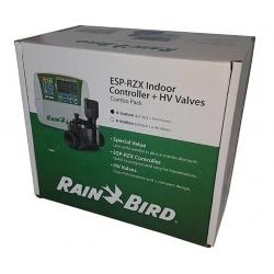 Pachet programator irigatii Rain Bird ESP-RZXe 4 zone interior + 4 electrovane DT-PRO