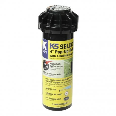 "Aspersor rotativ DT PRO 3/4"" K5 SELECT, 4 duze incorporate"